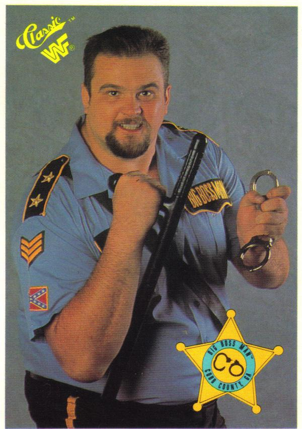 cross bossman WWF big bossman