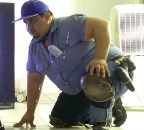 the chubby cable guy
