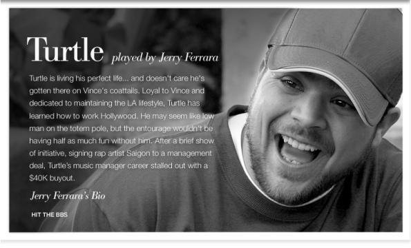 Jerry Ferrara as Turtle