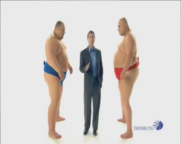 Sumo Wrestlers - Distributel 15