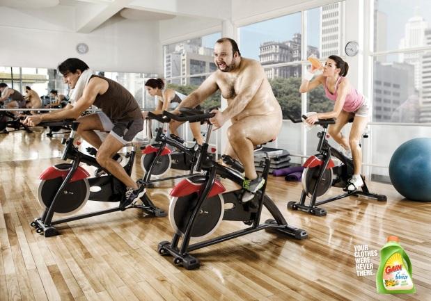 Gain Fabreze - Gym
