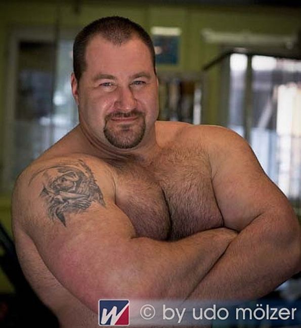 Handsome Strongman 01