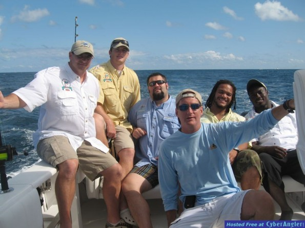 Miami Dolphins Fishing Day