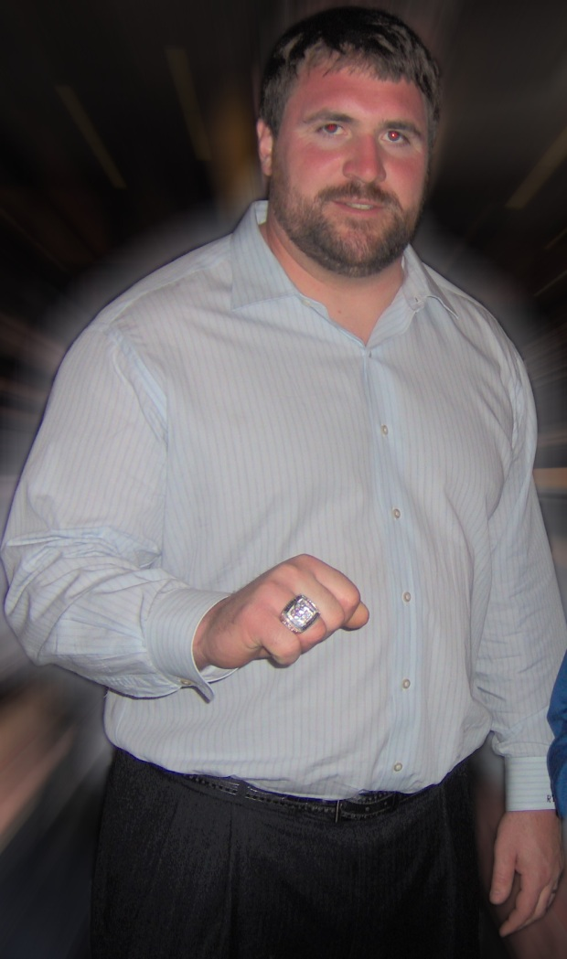 Rich Seubert superbowl ring