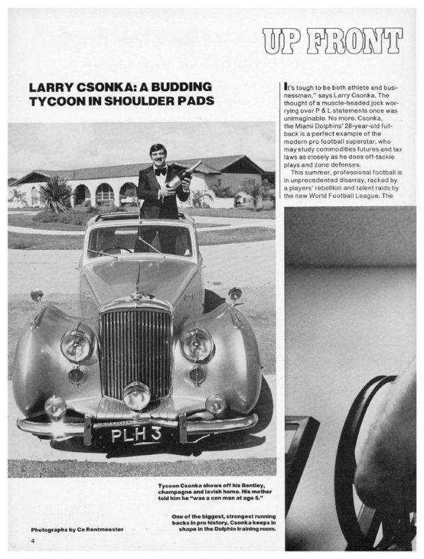 Larry Csonka People Magazine