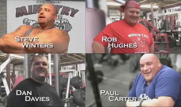Ministry Of Muscle Cast